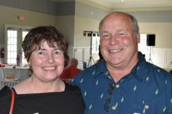 Left to Right:  Donna Fannin, Mike Hale