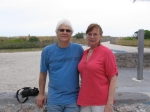 Jim & Julia (Hiatt) Dalton on vacation at the shore.